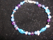 7 inch Increasing Intuition Gemstone Bracelet