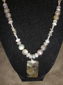 Labradorite Necklace 19 inches